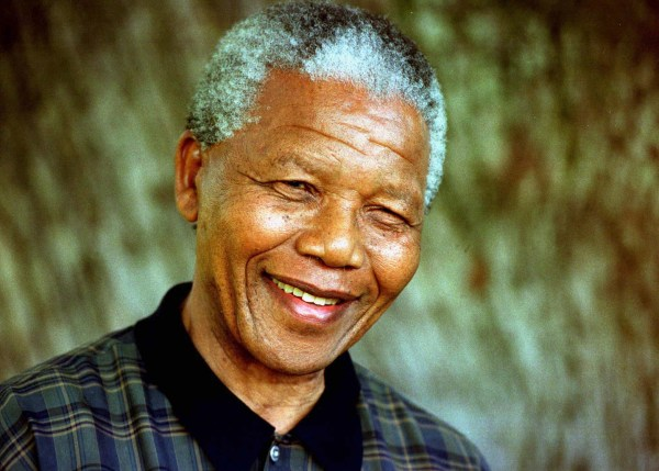 FILE PHOTO OF PRESIDENT MANDELA.
