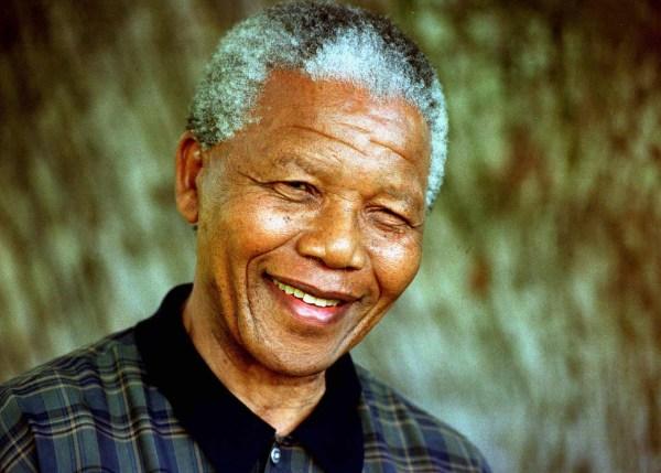 FILE PHOTO OF PRESIDENT MANDELA.